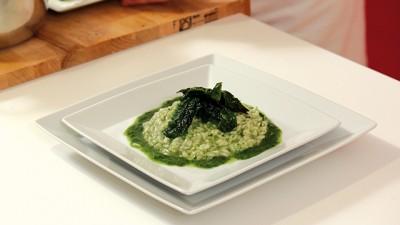 Riso verde agli spinaci